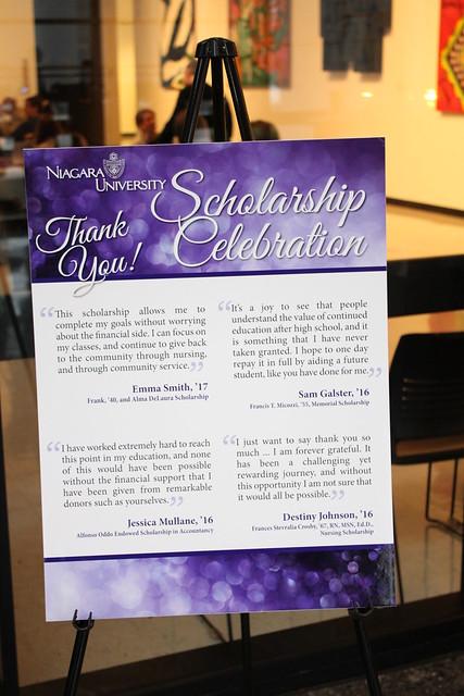 Scholarship Celebration | 04.22.16