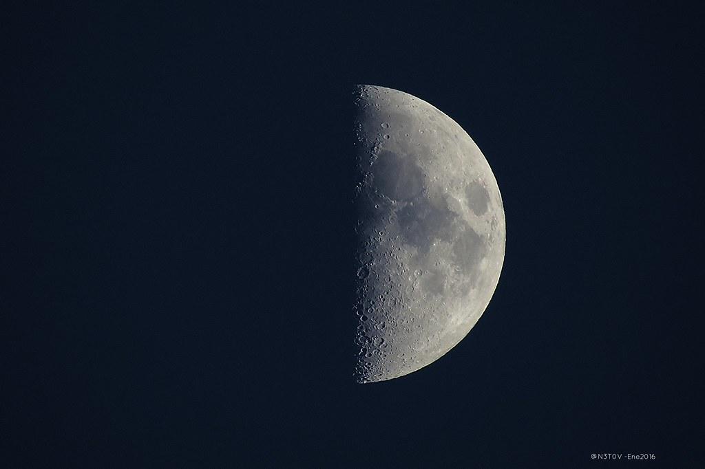 Luna Cuarto Creciente: \