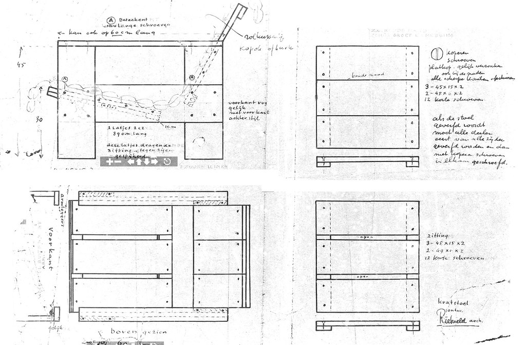 ... Gerrit Rietveld Crate Chair Plans | By Glennellis77
