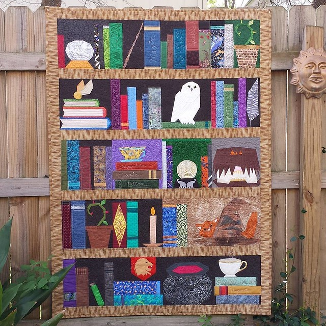 1 of 2! On #talktometuesday today, #projectofdoom for charity. Blocks designed, tops pieced, and quilts bound by me.  Blocks made by the #pod Facebook group! To be donated to @thelinusconnection. Quilted by sarahssewingstudio.com.  #freepatterns on @fando