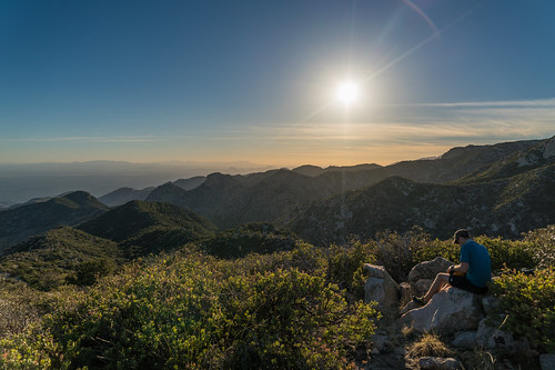 1603 Gavin on the summit of USGS Guthrie Mountain