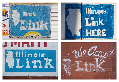 Illinois Link Card and Map Paintings | by metroblossom