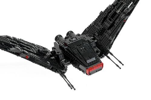 Lego Kylo Ren S Shuttle Mod I Am A Massive Fan Of Kylo