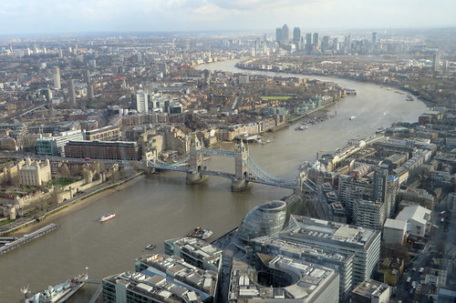 View from the Shard (East) | by diamond geezer