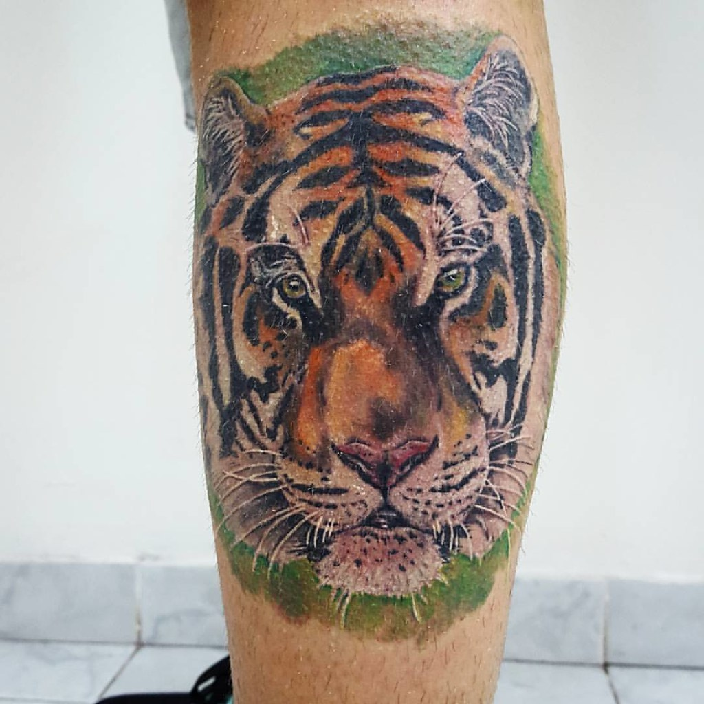 Tigre Blonde Tattoo Studio Artista Gonzalo Tattoo Tatuaj Flickr