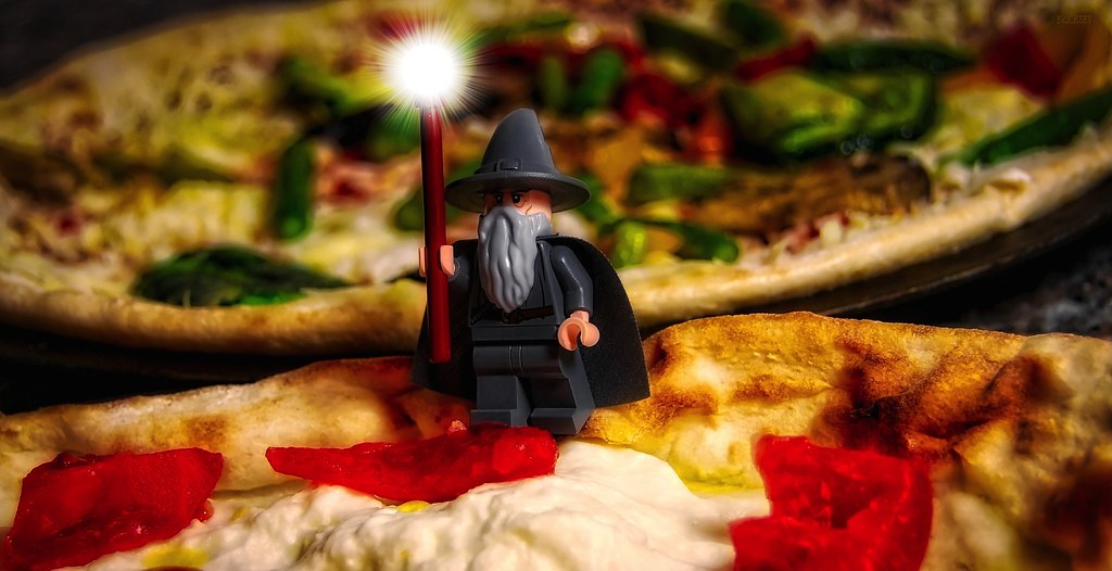 You shall not have pizza a nefarious magic has merged j flickr by bricksev you shall not have pizza by bricksev ccuart Images