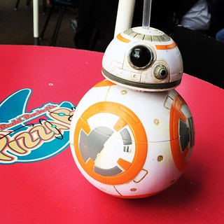 BB-8 sippy cup | by laurensweb