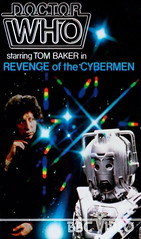 Tomb 6 Revenge of the Cybermen VHS Cover