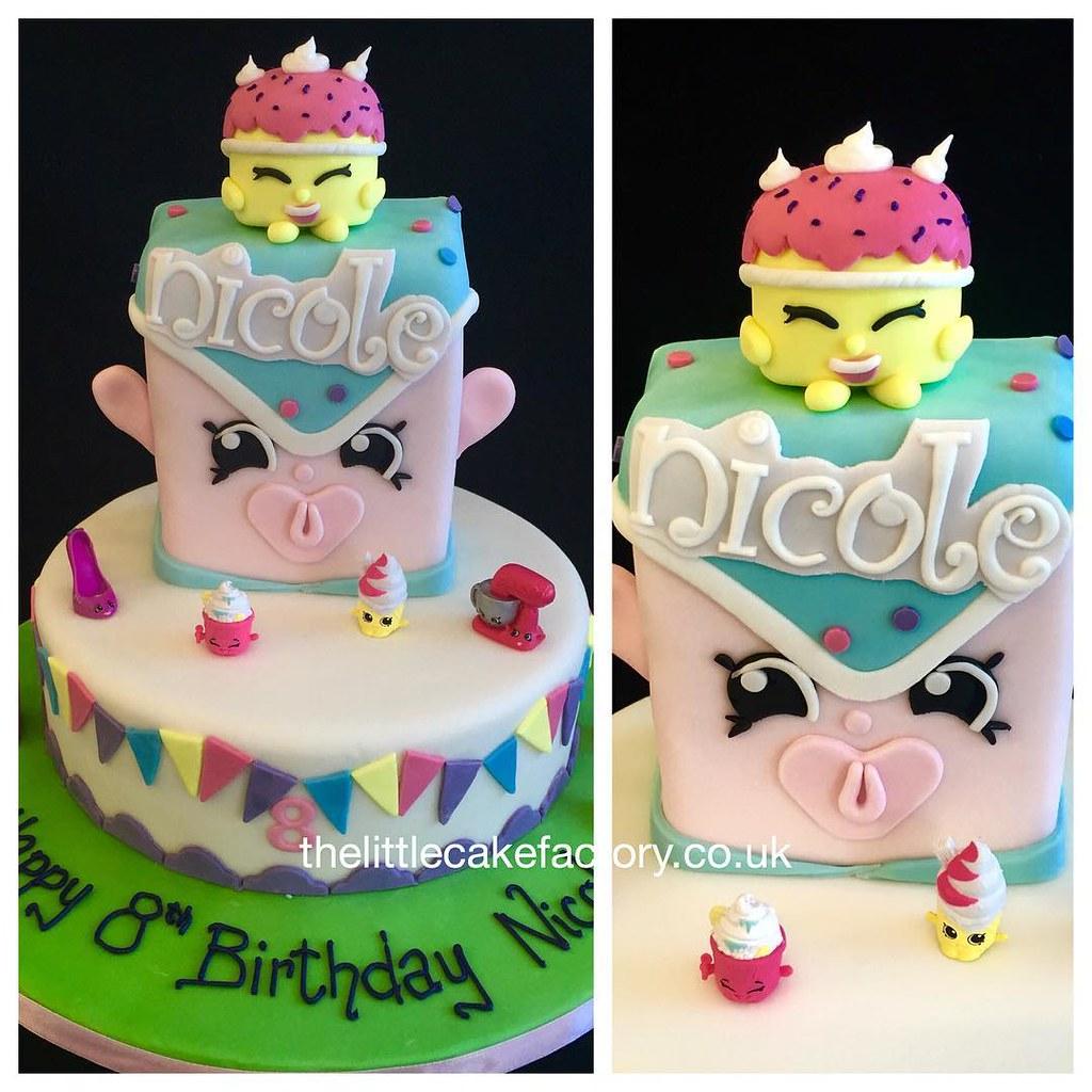 Shopkins Birthday Cake Shopkins Shopkinsworld Shopkinsp Flickr