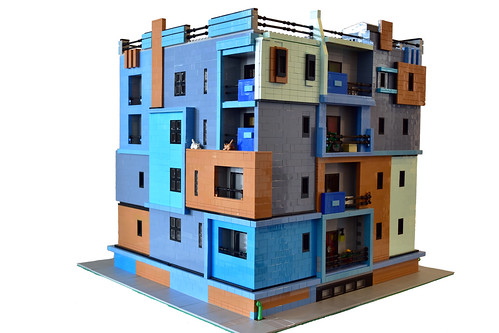Modern apartment how many shades of blue can you find - Can you buy an apartment ...