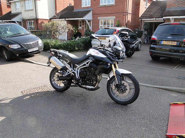 Nick's Triumph Tiger 800 ABS