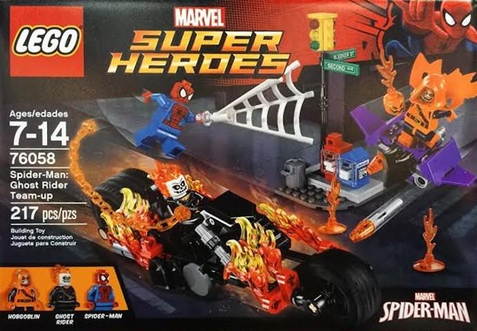 LEGO Marvel Super Heroes 76058 - Ghost Rider Team-Up | Flickr