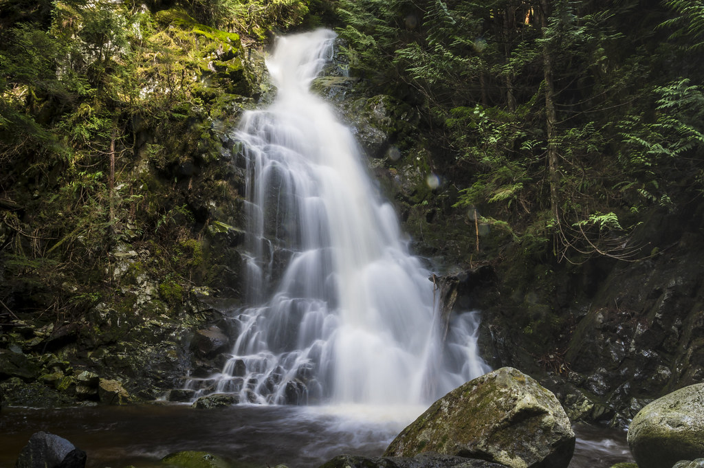 Sawblade falls, Coquitlam, BC