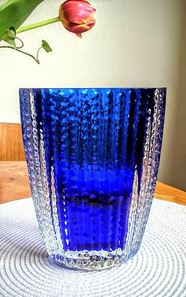 Ingrid Glas Handblown Signed Heavy Glass Vase Ig 3079 O Flickr