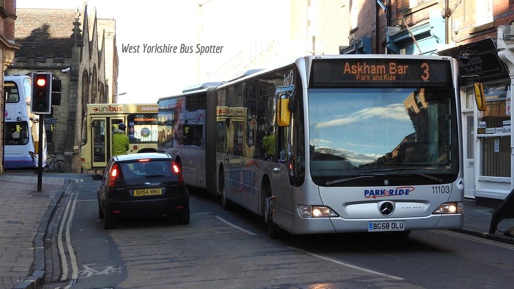 ... First York BG58 OLU 11103 | by WY Bus Spotter