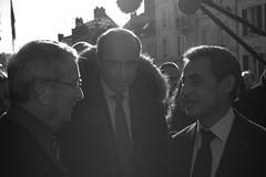 Visite de Nicolas SARKOZY à Anet et Abondant - Vendredi 15 janvier 2016