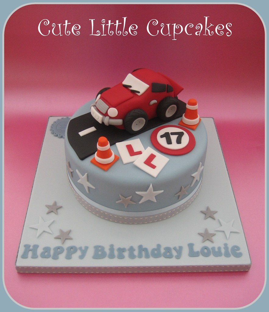 17th birthday cake learner driver cake 17th birthday cake ideas