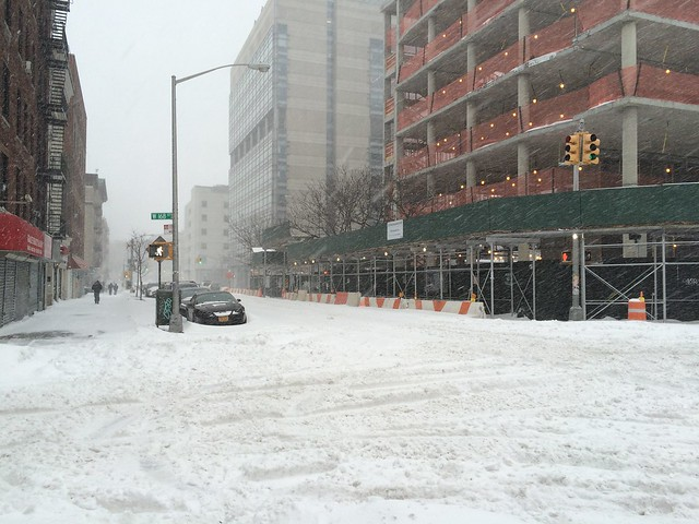 January 2015 Winter Storm Jonas - New York City Blizzard