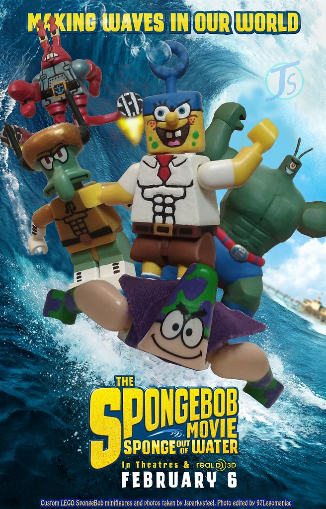 The spongebob movie sponge out of water sandy
