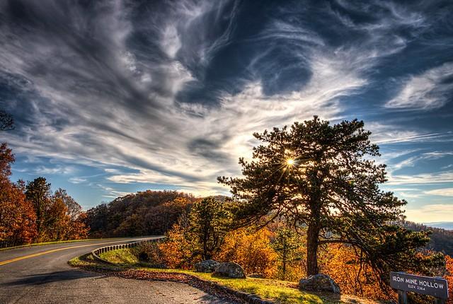 Iron Mine Hollow Overlook - Blue Ridge Parkway