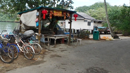 how to get to pulau ubin by car