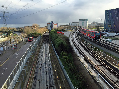 Crossrail from Prince Regent DLR | by diamond geezer