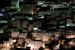 Night Houses - Casares, Spain | by www.caseyhphoto.com