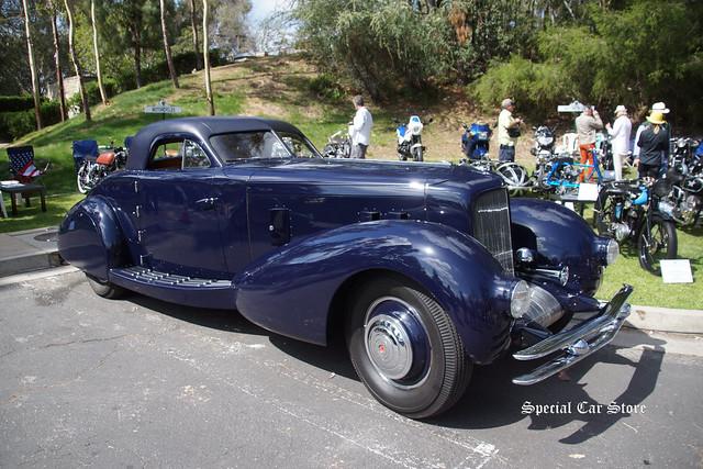 Jay Leno's 1934 Duesenberg Aerodynamic Walker Coupe