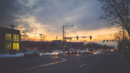 { Denver @ dusk } | by Web-Betty