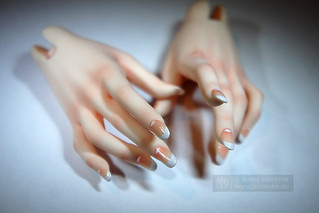 Iplehouse nYID modded hands manicure | by Dark0na
