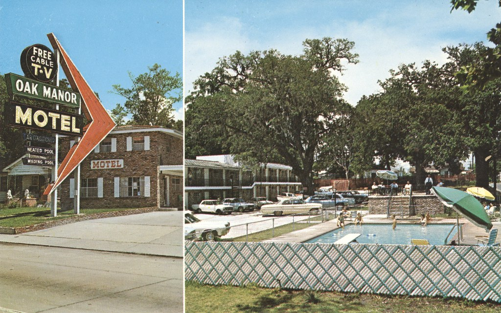 Oak Manor Motel - Biloxi, Mississippi