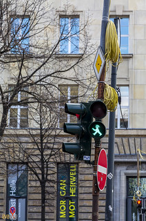 walk green street light berlin | by Eva Blue