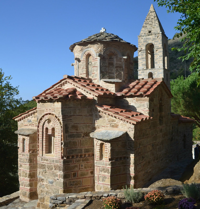 Byzantine Church of St. Peter in Kastania, Mani, GREECE