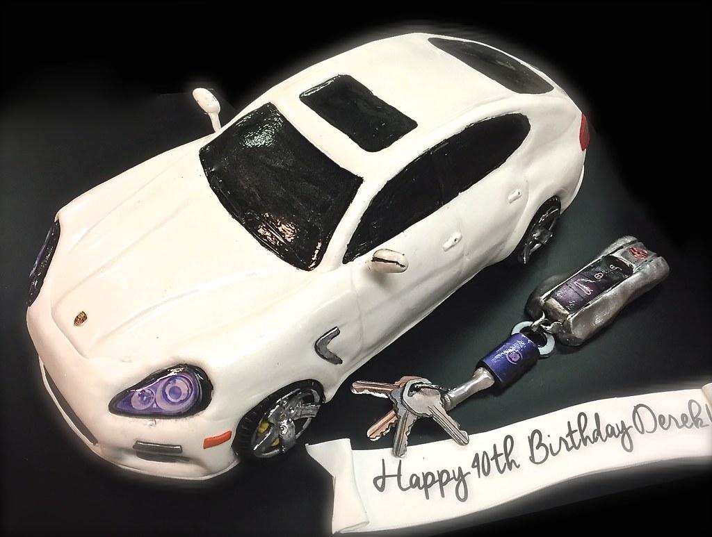 Porsche Panamera Car Cake Debbie Goard Flickr