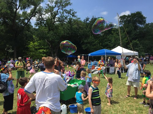 Bubble craziness, Eeyore's Birthday | by TigerHawkBlog