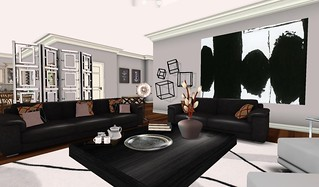 Swank Feb 2016-Cosmo LR Hall | by Hidden Gems in Second Life (Interior Designer)