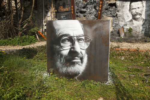 Umberto Eco, painted portrait  _DDC2716 | by Abode of Chaos