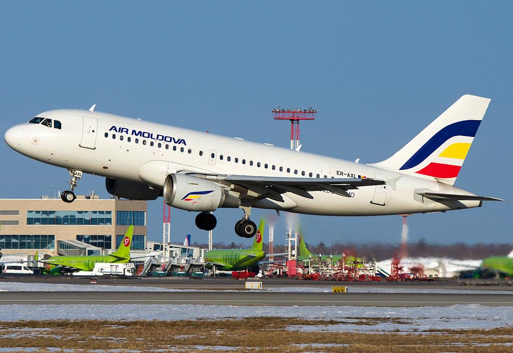 ER-AXL  Air Moldova Airbus A319-112