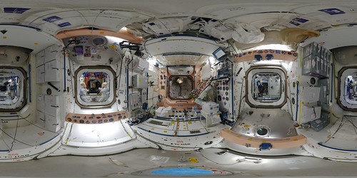Space Station 360: Unity (Node 1) | by europeanspaceagency