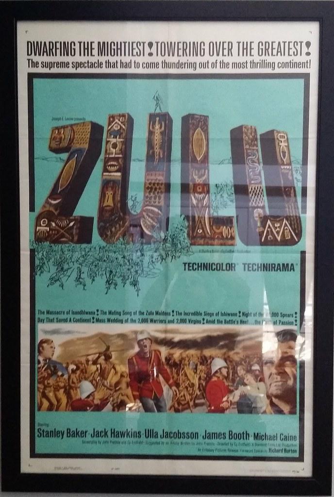 Zulu Film Poster Image Courtesy Eric Schena Numismatic