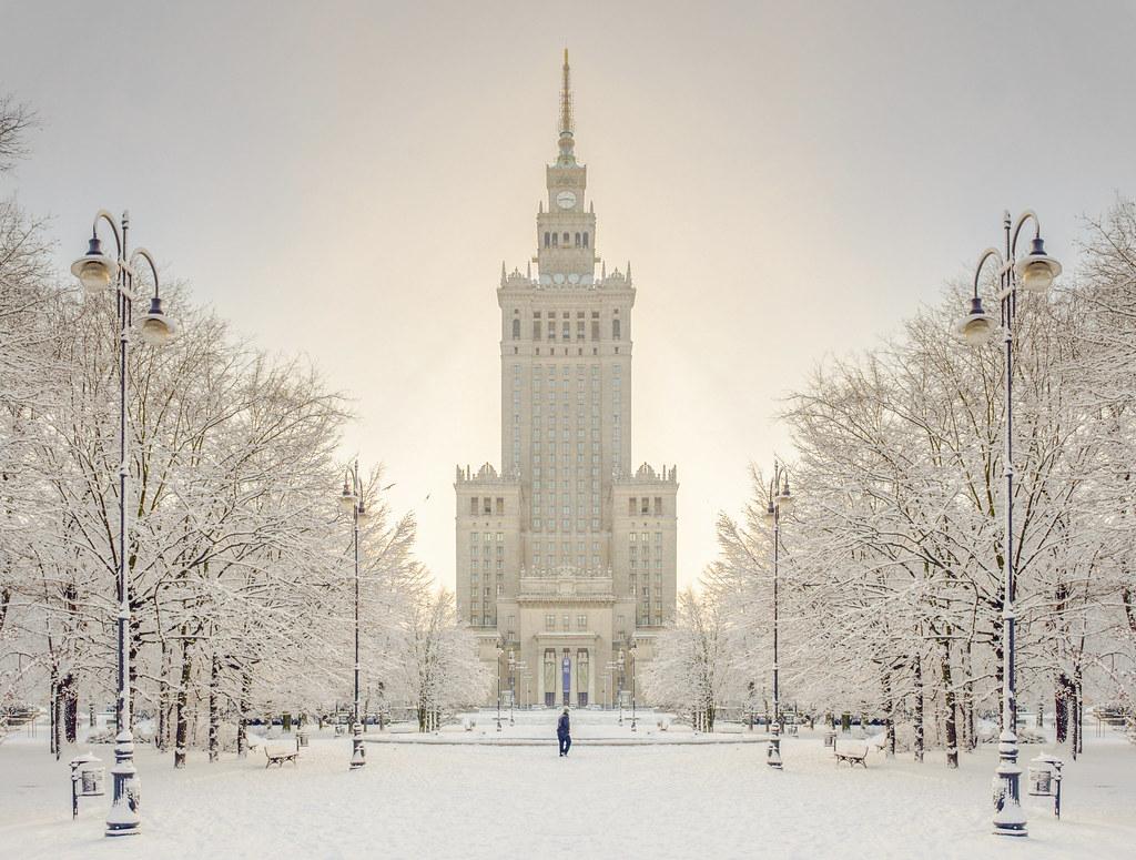 Резултат со слика за photos of  winter in  varsava