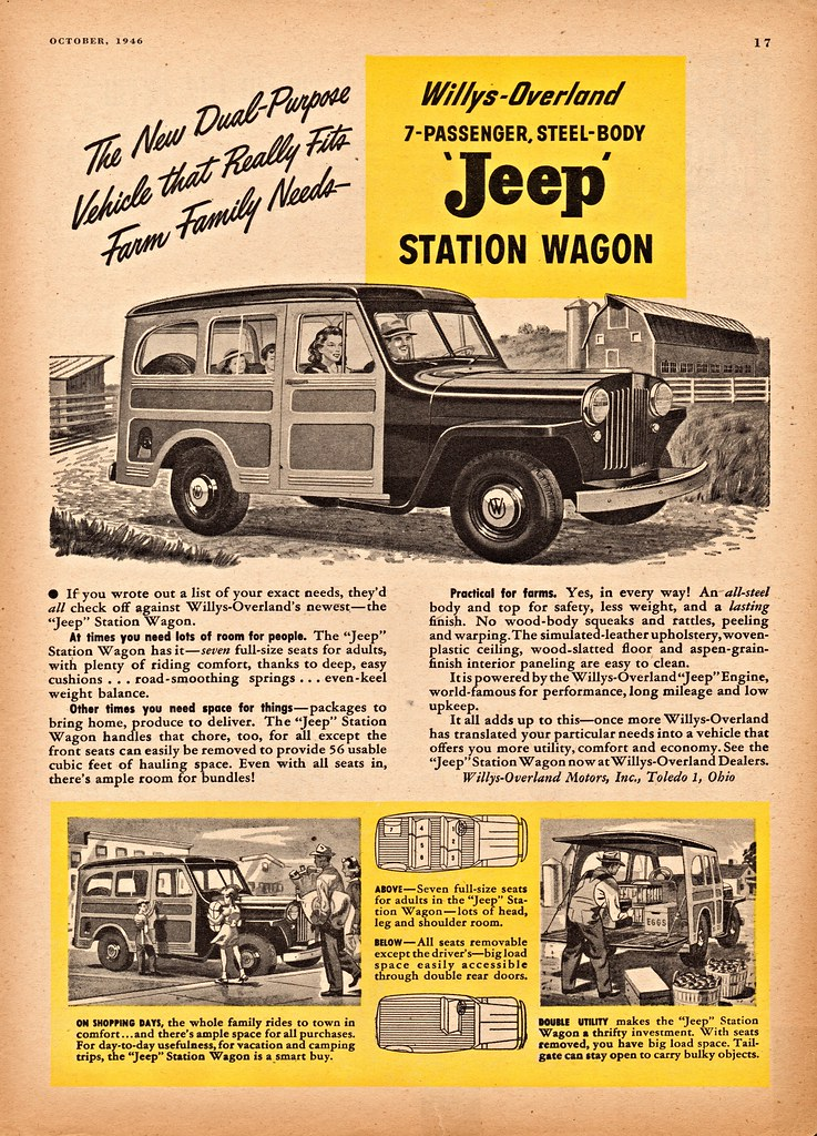1946 Willys Jeep Station Wagon Alden Jewell Flickr