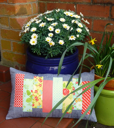 Simple Strips Cushion | by Just Jude Designs