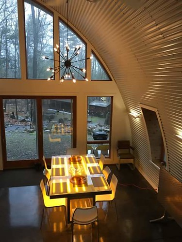 Quonset Hut Home Beautiful Shot Capturing The Arch Style