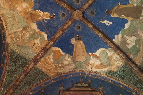 Soffitto della camera d 39 oro 1452 benedetto bembo 1423 for Planimetrie della camera a castello