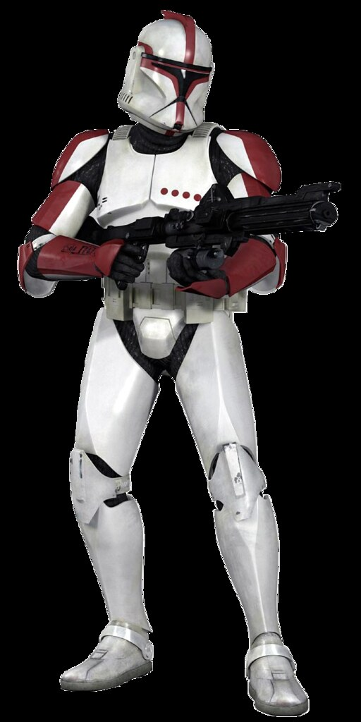 clone trooper phase i captain pose 1 the first of a set flickr