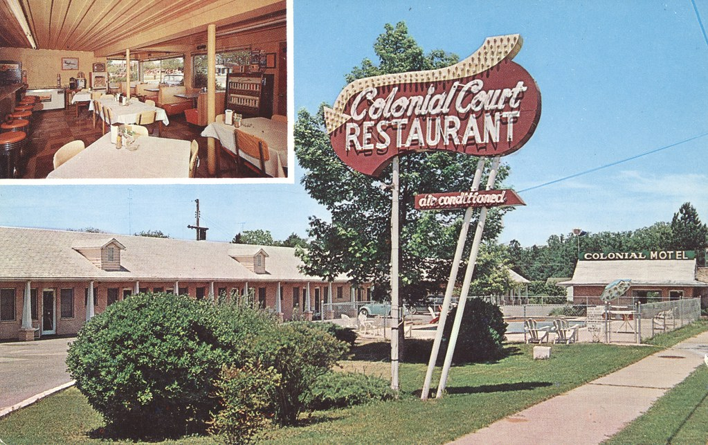 Colonial Motel and Restaurant - Perry, Georgia