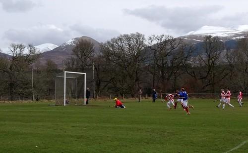 Lochaber Camanachd Club 2:6 Kyles Athletic (Shinty Premiership)
