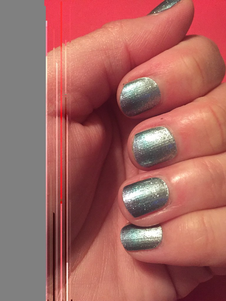 March stylebox ombré sparkle. Jamberry nails! | Jennifer Boller | Flickr