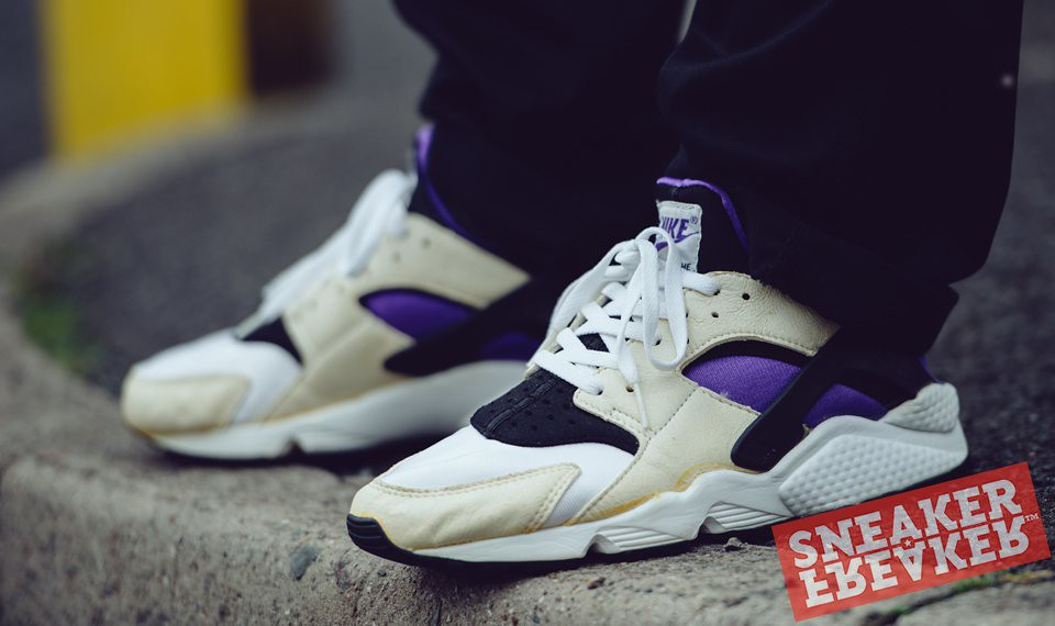 7812a35700585 ... real nike air huarache white black purple punch 2092 48dda 947bc